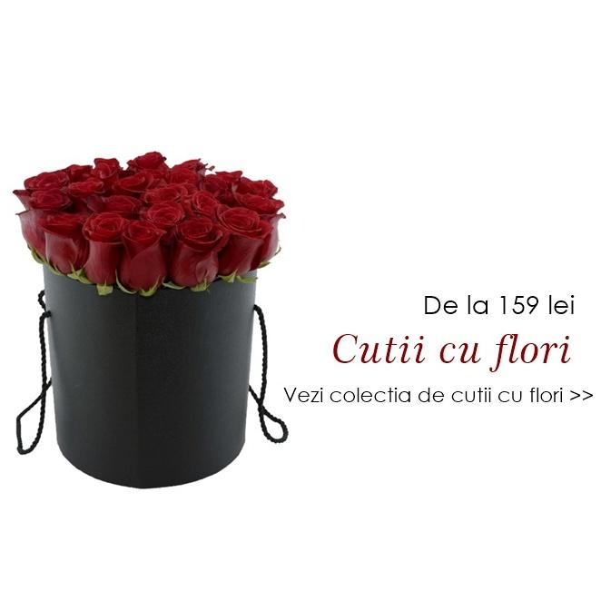 livrare flori bucuresti cutii cu flori