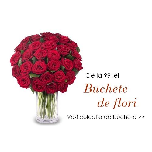 buchete de flori trandafiri